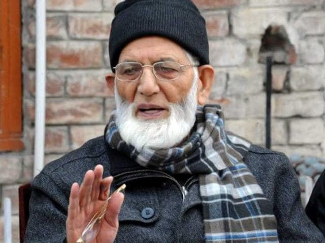 Syed Ali Shah Geelani of the Hurriyat: The government's apparent change of chance towards the Hurriyat is provisional