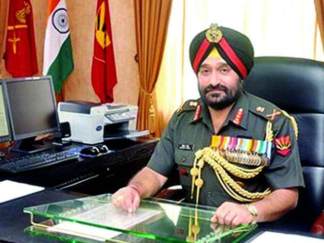 Lt General Bikram Singh