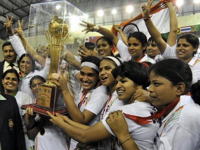 India-women-team-players-celebrate-after-winning-the-first-women-World-Cup-Kabaddi-Championship-beating-Iran-in-Patna-on-Sunday-PTI-Photo