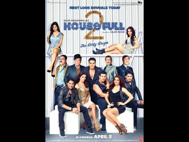 Housefull 2 is scheduled for April 5, 2012 release.