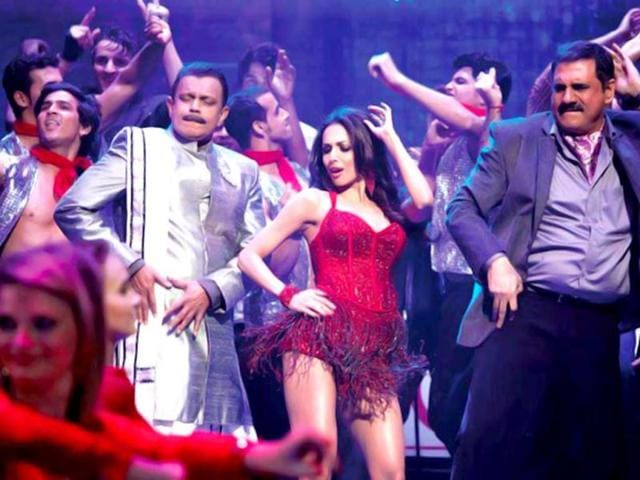 The song, choreographed by Farah Khan, will see Malaika in a see-through green and pink anarkali.
