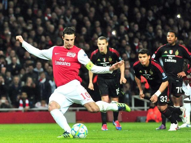 Robin van Persie,Arsenal,Professional Footballers' Association