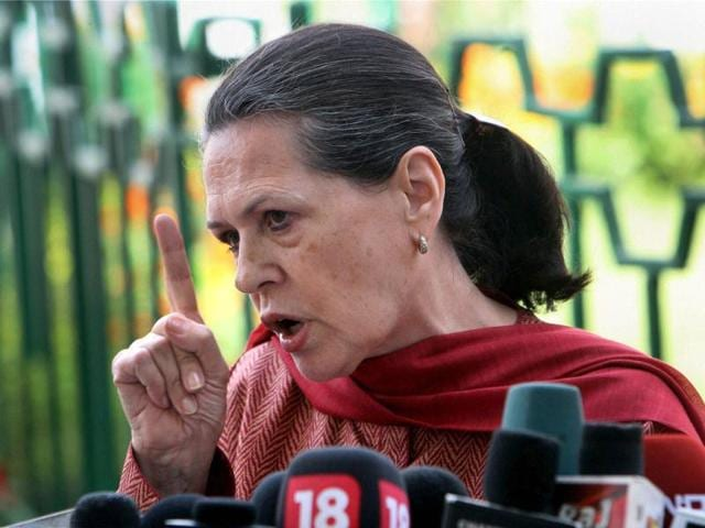 Congress-president-Sonia-Gandhi-addresses-the-media-after-a-party-meeting-to-review-the-party-s-performance-in-the-state-assembly-elections-at-the-party-headquarters-in-New-Delhi-on-Wednesday-PTI-Photo