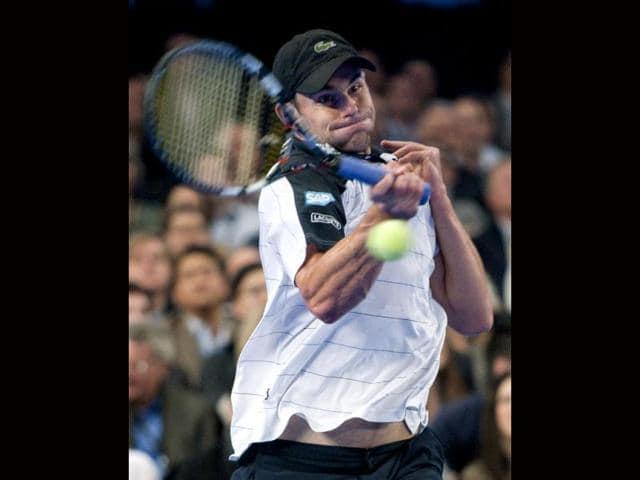 Roger Federer,Andy Roddick,Sony Ericsson Open