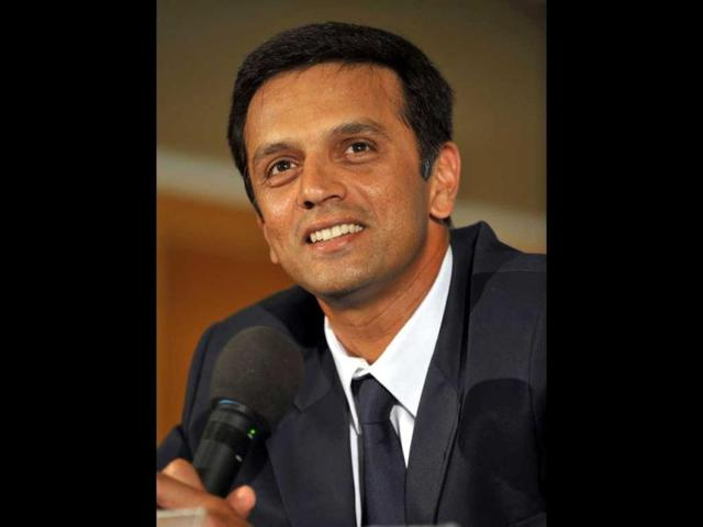 Former India skipper Rahul Dravid