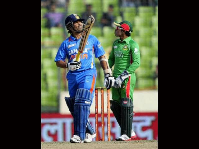 Sachin-Tendulkar-plays-a-shot-during-the-ODI-Asia-Cup-match-against-Bangladesh-in-Dhaka-AFP-Munir-uz-Zaman