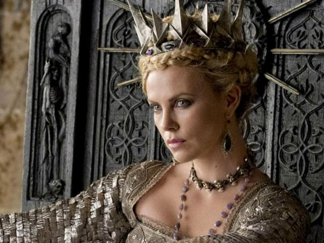 Charlize Theron's costume made from dung beetle shells