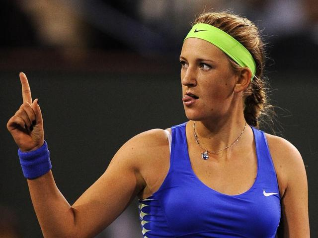Victoria-Azarenka-of-Belarus-celebrates-after-defeating-Angelique-Kerber-of-Germany-in-their-women-s-singles-semifinal-match-6-4-6-3-at-the-BNP-Paribas-Open-tennis-tournament-at-the-Indian-Wells-Tennis-Garden-in-California-AFP-Robyn-Beck