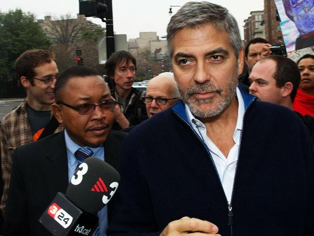 Actor-and-activist-George-Clooney-walks-towards-the-Sudan-Embassy-to-start-his-protest-in-Washington-DC-Clooney-and-several-US-Congressman-were-arrested-after-protesting-against-Sudan-s-human-rights-violations-AFP-Paul-J-Richards