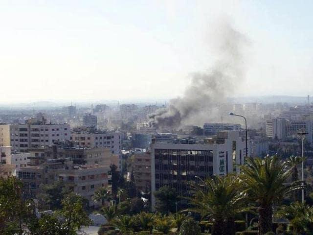 Syrian chemical attack,Washington,military action