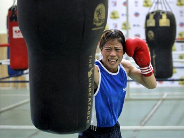 New Delhi,Five-time world champion,Mary Kom