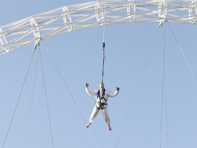 Bungee jump,skydive,hiking