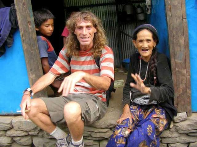 In-this-undated-photograph-of-kidnapped-Italian-national-Paolo-Bosusco-poses-with-a-tribal-woman-at-an-undisclosed-location-in-India-AFP-Photo