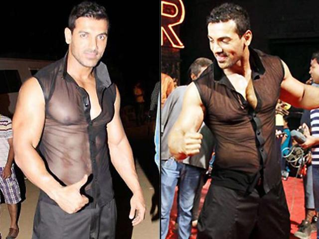 John Abraham rocks in item number Whiskey from his maiden home production Vicky Donor.
