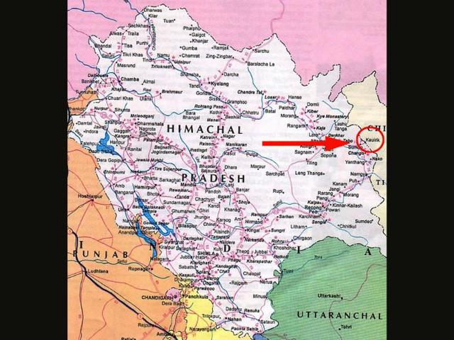 Map-of-Kinnaur