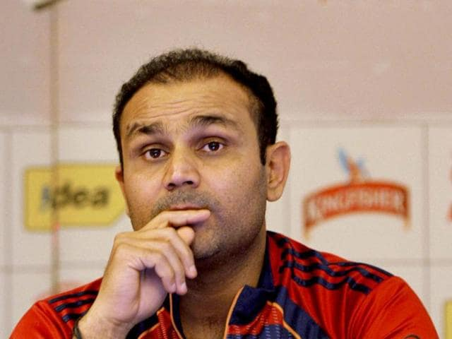 Virender Sehwag,Champions League Twenty20,Super Eights