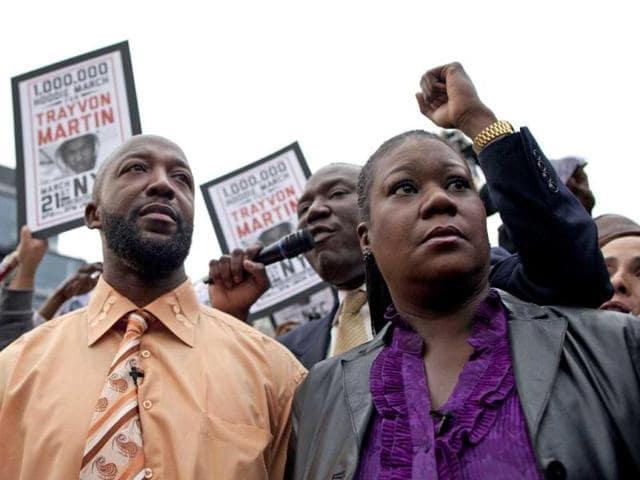 Trayvon Martin,A Million Hoodies March,George Zimmerman