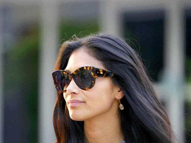 Nicole-Scherzinger-girlfriend-of-McLaren-Formula-One-driver-Lewis-Hamilton-of-Britain-walks-in-the-paddock-after-the-qualifying-session-of-the-Malaysian-F1-Grand-Prix-at-Sepang-International-Circuit-outside-Kuala-Lumpur-Reuters-Samsul-Said