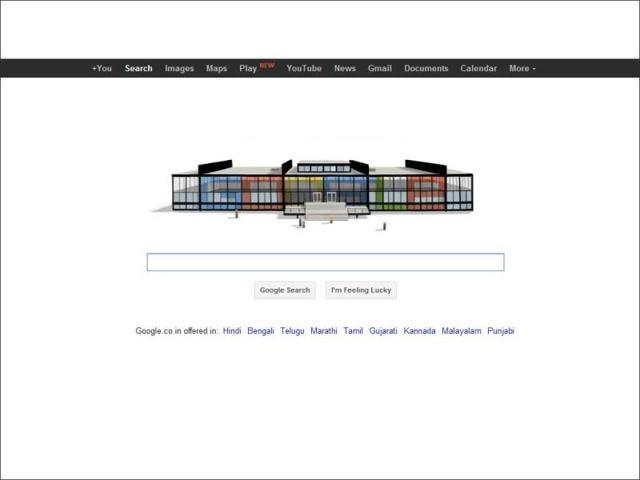Mies van der Rohe,google doodle,hindustan times