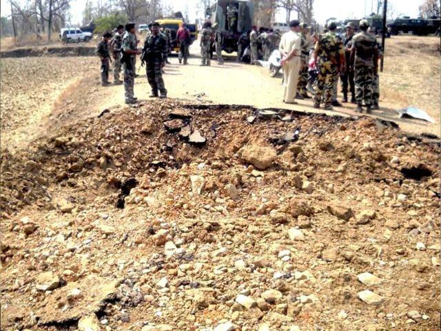 Narendra Modi,maoists,bomb explosion