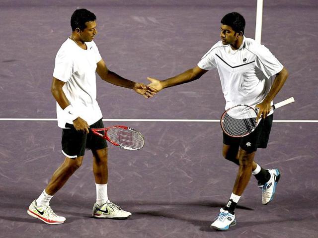 Mahesh Bhupathi,Rohan Bopanna,French Open