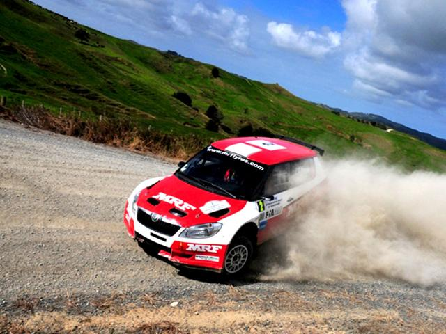 MRF-s-Chris-Atkinson-holds-a-comfortable-lead-over-Proton-s-Per-Gunnar-Andersson-going-into-the-second-leg-of-the-Rally-Whangarei-Vinayak-Pande-HT-Photo