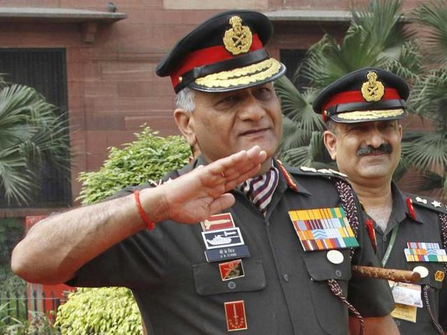 Indian-Army-chief-VK-Singh-during-a-reception-in-New-Delhi-Singh-is-in-the-eye-of-storm-for-a-leak-of-a-letter-describing-ammunition-shortages-and-archaic-air-defences-in-India-Reuters-photo-B-Mathur