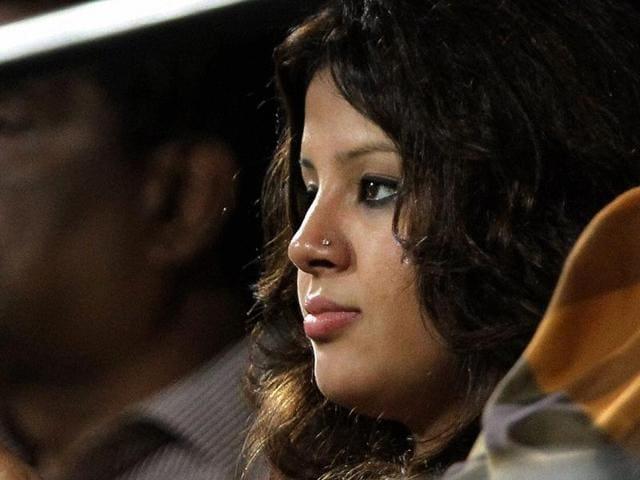 Chennai-Super-Kings-captain-MS-Dhoni-s-wife-Sakshi-watches-the-first-IPL5-match-against-Mumbai-Indians-in-Chennai-PTI-Photo-R-Senthil-Kumar