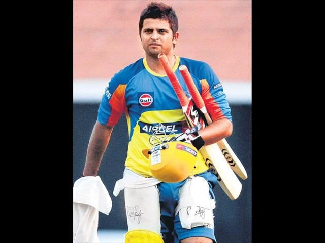 Suresh-Raina-has-a-separate-floor-for-bats-at-his-home-HT-file-photo