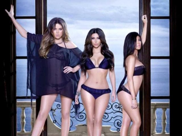 Kim-Kourtney-and-Khloe-Kardashian-go-topless-in-a-racy-photoshoot-to-promote-their-denim-line-for-Sears-The-stylish-sisters-presumably-wanted-to-put-the-focus-on-the-jeans