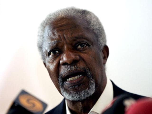 Ebola,Ebola in Africa,Kofi Annan