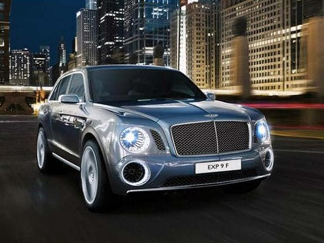 Bentley SUV,bentley,XP 9F concept