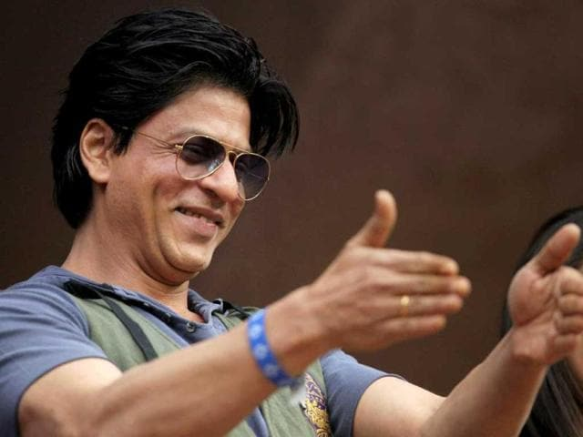 SRK is thrilled with the first IPL win this season.