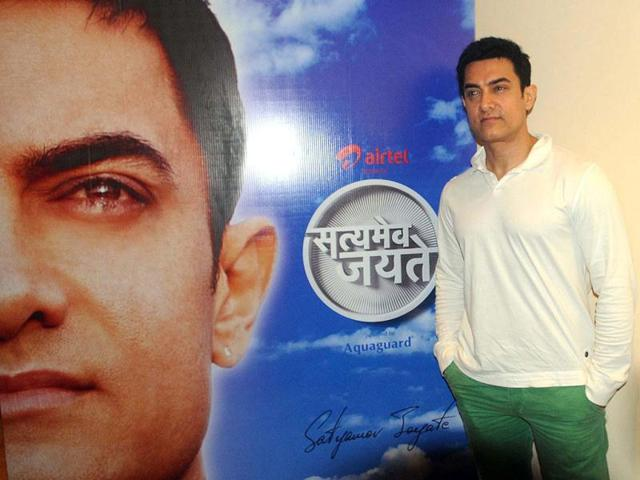 Aamir Khan has been going all out to keep everything related to his maiden TV show, Satyamev Jayate, under wraps.
