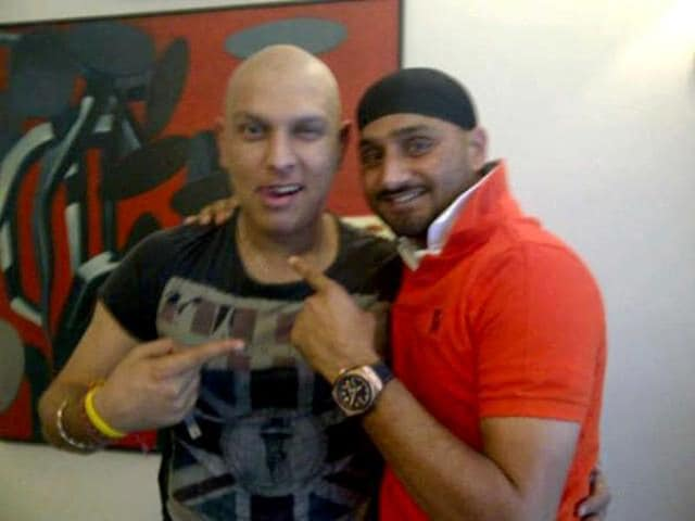 Bhajji-posted-this-picture-of-his-with-Yuvraj-Singh-on-his-Twitter-page