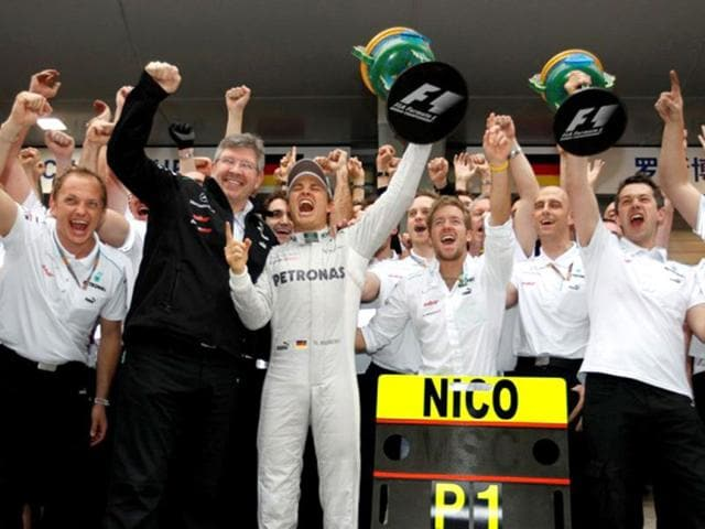 With-his-first-win-in-111-attempts-Nico-Rosberg-joined-Mark-Webber-Rubens-Barrichello-Jarno-Trulli-and-Jenson-Button-on-the-list-of-drivers-to-have-taken-the-longest-time-to-record-their-first-win-in-F1-Getty-Images
