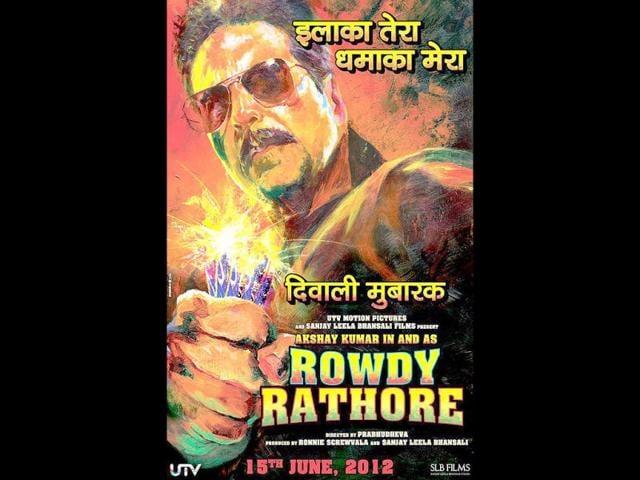 Hindustan Times,Akshay Kumar,Rowdy Rathore