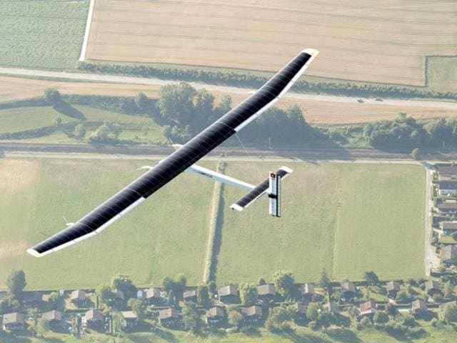 Solar powered plane to land in India in early March