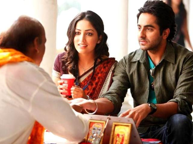 The film stars Ayushmann Khurrana, Yami Gautam and Annu Kapoor in the lead roles.