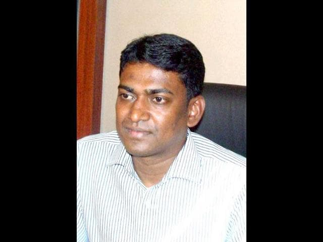 File-Photo-of-DM-of-Sukma-district-Alex-Paul-Menon-who-was--kidnapped-after-Naxals-attacked-his-convoy-and-took-him-hostage-in-Chhattisgarh-PTI-Photo
