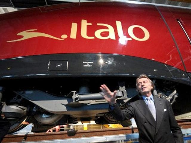 File-photo-of-NTV-president-Luca-Cordero-di-Montezemolo-speaking-at-the-presentation-of-the-Italo-train-the-NTV-new-high-speed-train-on-December-13-2011-in-Nola-AFP-Photo-Mario-Laporta