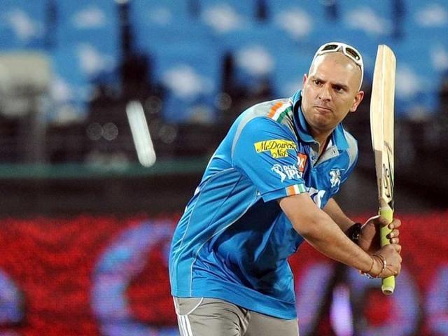 Image result for Yuvraj Singh bald