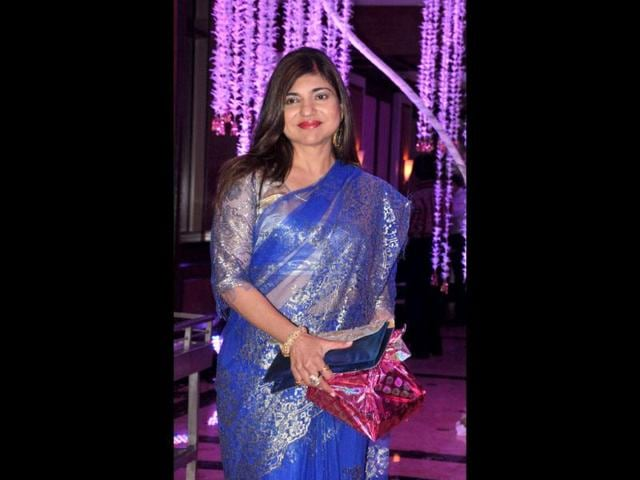Alka-Yagnik-also-attended-the-wedding-reception-AFP-Photo
