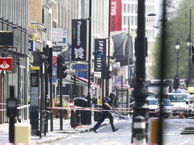 London,central london,hostage