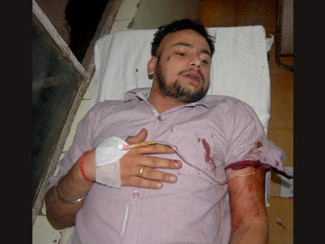 Injured-Pritam-at-a-private-hospital-in-Panipat-HT-photo