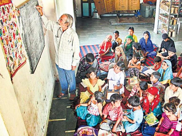 Khajrana,school,you read they learn