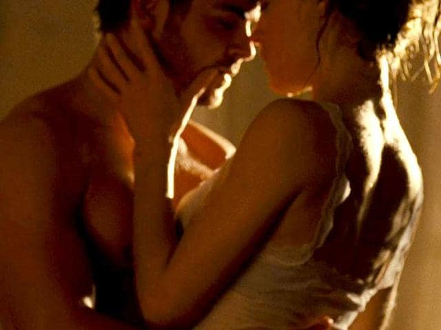 Zac Efron And Taylor Schilling In A Steamy Sex Scene From The Movie