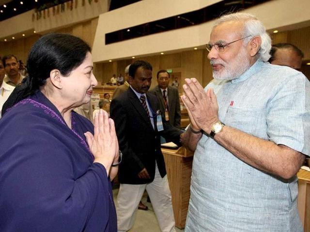 Narendra Modi,jayalalithaa,ADMK