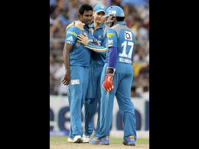 Pune Warriors,Sunrisers Hyderabad,Angelo Mathews