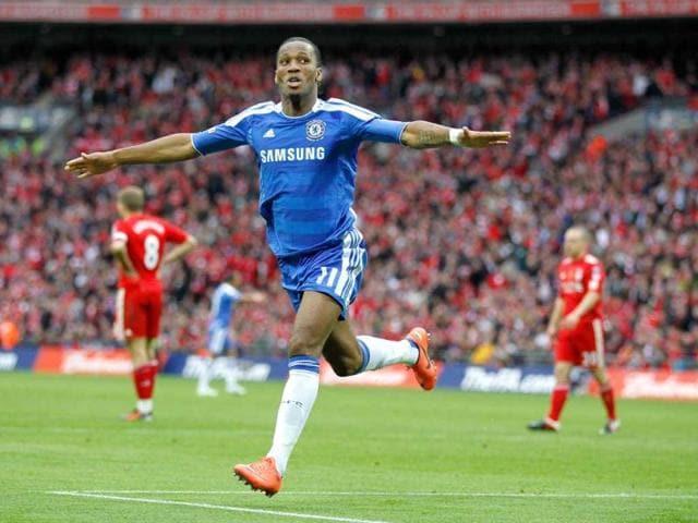 Didier Drogba,Chelsea,final game